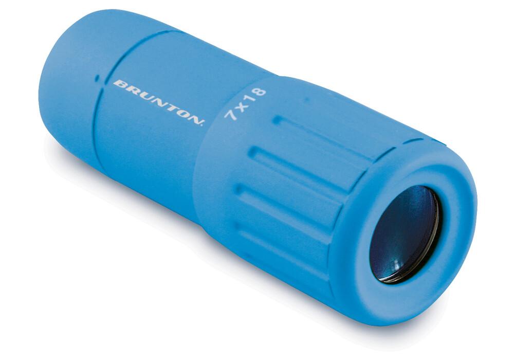 Brunton scope monokular 7x18 blau campz.de